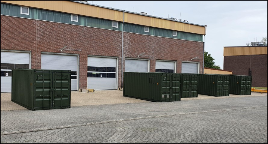 Blauer Bund Sonderwerkzeug SPz PUMA insgesamt 5 Container