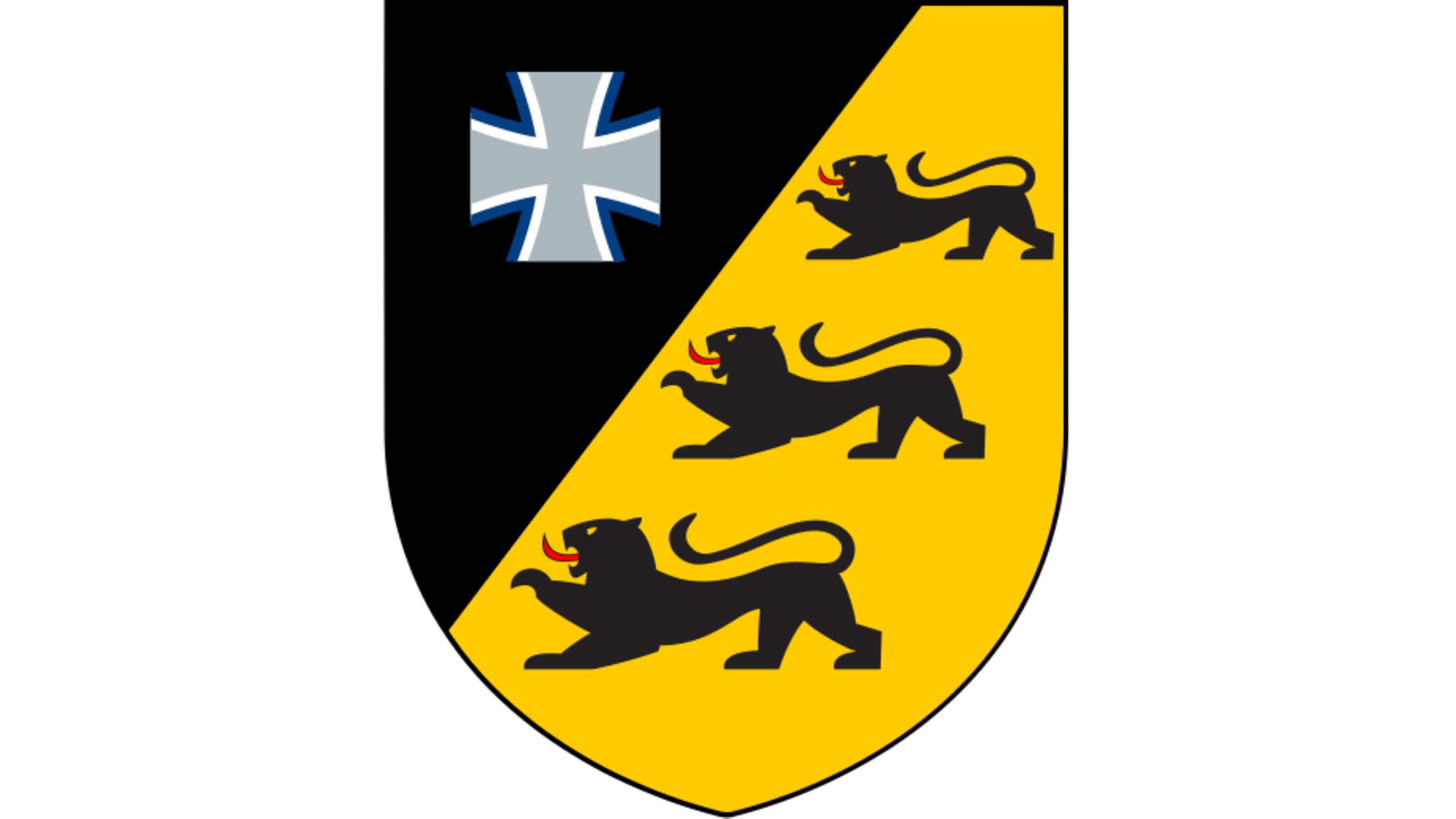 Blauer Bund Wappen des Landeskommandos Baden-Würtemberg