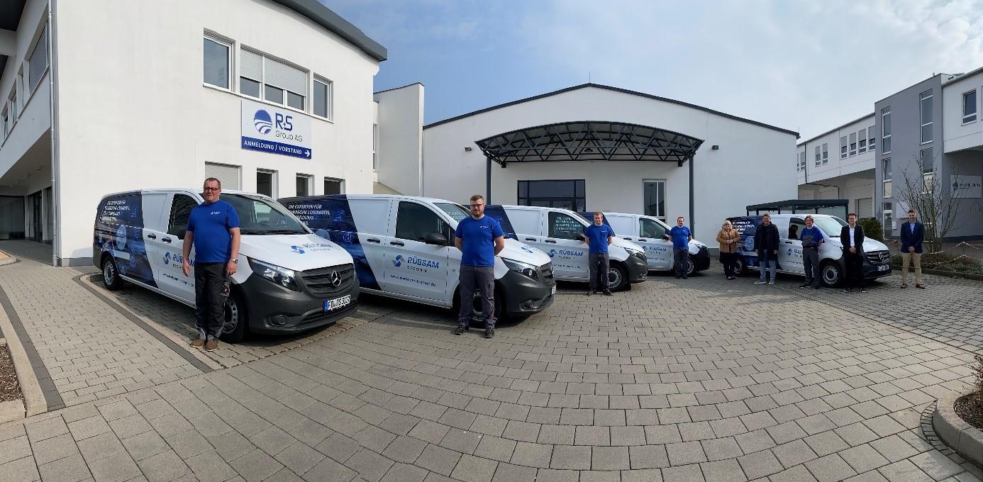 Blauer Bund 5 Mobile Teams von Rübsam Technik GmbH
