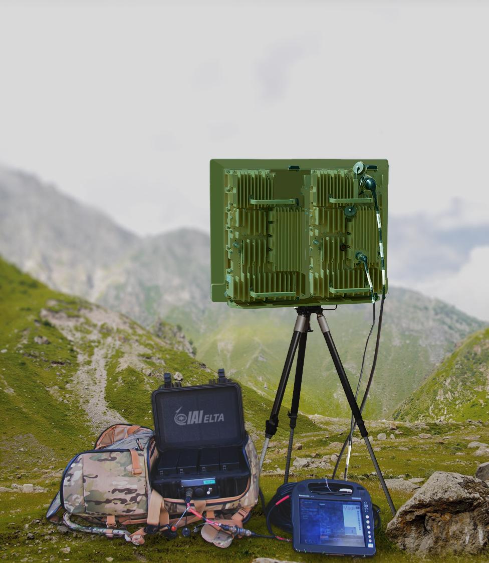 """Blauer Bund neuen Radarsystem """"Bodengebundenes Aufklärungs- und Raum-Überwachungssystem"""" (BARÜ)"""