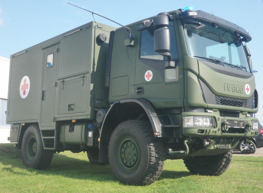 Ungeschützter Verwundetentransport geländegängig (UVT gl)